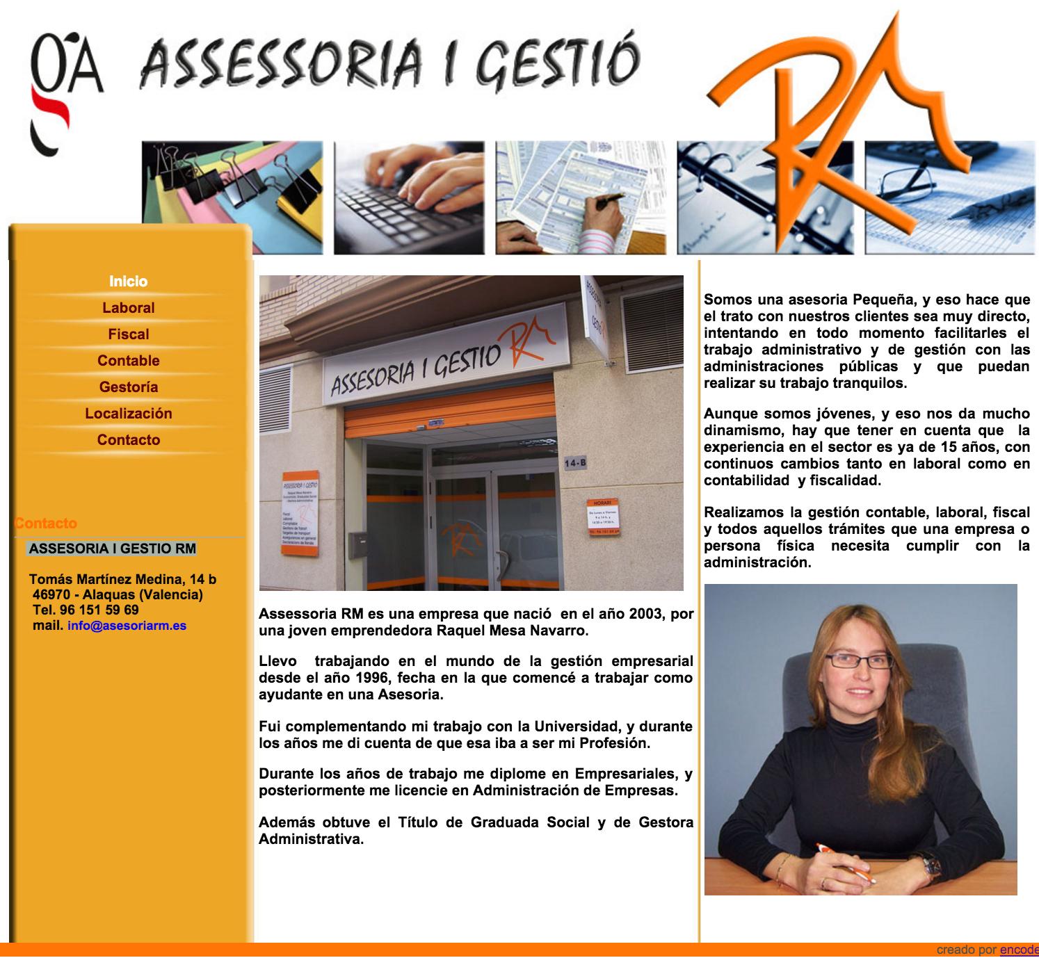 Assesoria i gestio rm encode soluciones infornaticas - Trabajo en alaquas ...